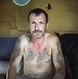 Andrei Perets, owner of a malina – a hideout where those released from jail may come and live for a while deciding what to do or where to go.