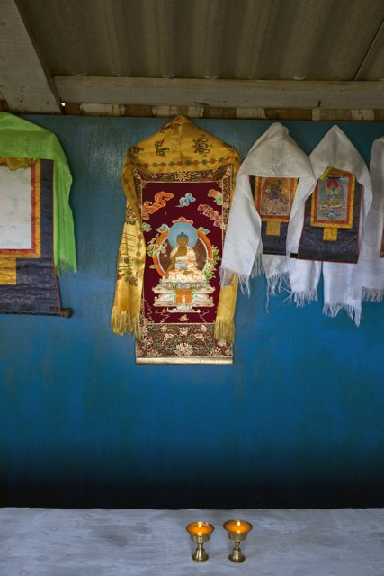 Buddhist sanctuary Sunrap Gyatsoling in Erzin near Mongolian border. When Tuva has formally joined the Soviet Union in 1944, all monks were prosecuted and temples completely destroyed to help Communist ideology take hold instead. After the breakup of the Soviet Union, Buddhism has seen a controversial revival in Tuva, although it's the religion's power consolidating potential rather than its true meaning that's being prioritized by the authorities all over Russia irrespective of whether it's Christianity, Islam or Buddhism.