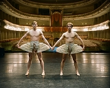 Rishat Yulbarisov (left) and Andrei Kasyanenko, ballet dancers, for Afisha