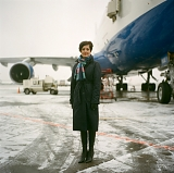 Olga, air hostess, for Bolshoi Gorod