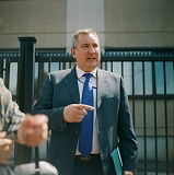 Dmitry Rogozin, politician, for Russian Reporter
