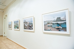Postcard Views: Russian Topographics, showing parts of Russian Palimpsest at Schusev Museum of Architecture, Moscow, 2014-15, photo by Marina Shilina